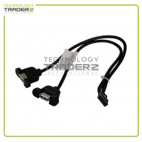 42Y8005 IBM Lenovo ThinkCentre High Profile PCI Dual USB Adapter Cable 41R3371