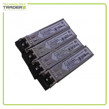 Lot of 4 FTLF8524P2BNV Finisar 4.25Gbps Multi-mode Fiber 500m 850nm Transceiver